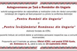 Autoguvernarea Pe Ţară A Românilor Din Ungaria